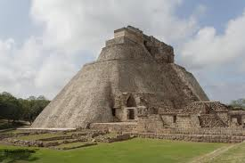Uxmal (note rounded corners)